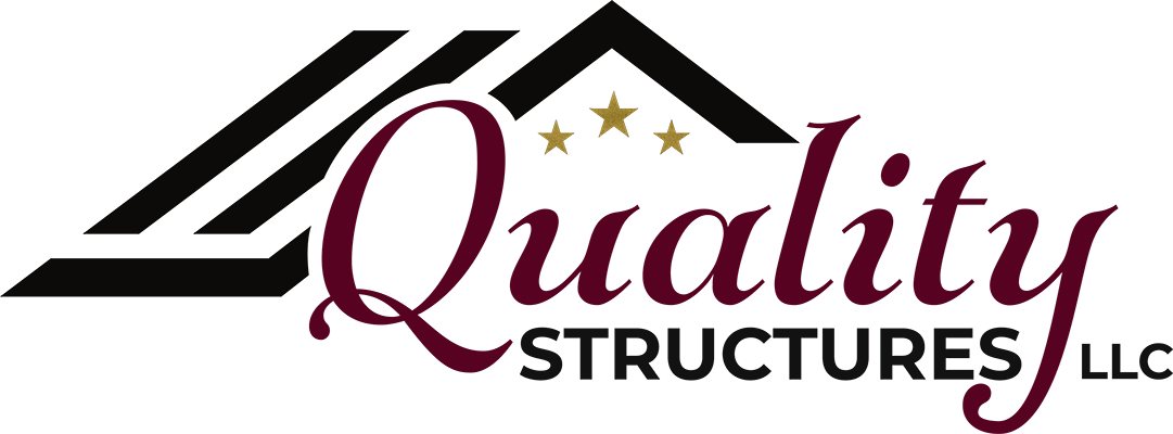 quality structures michigan sheds logo