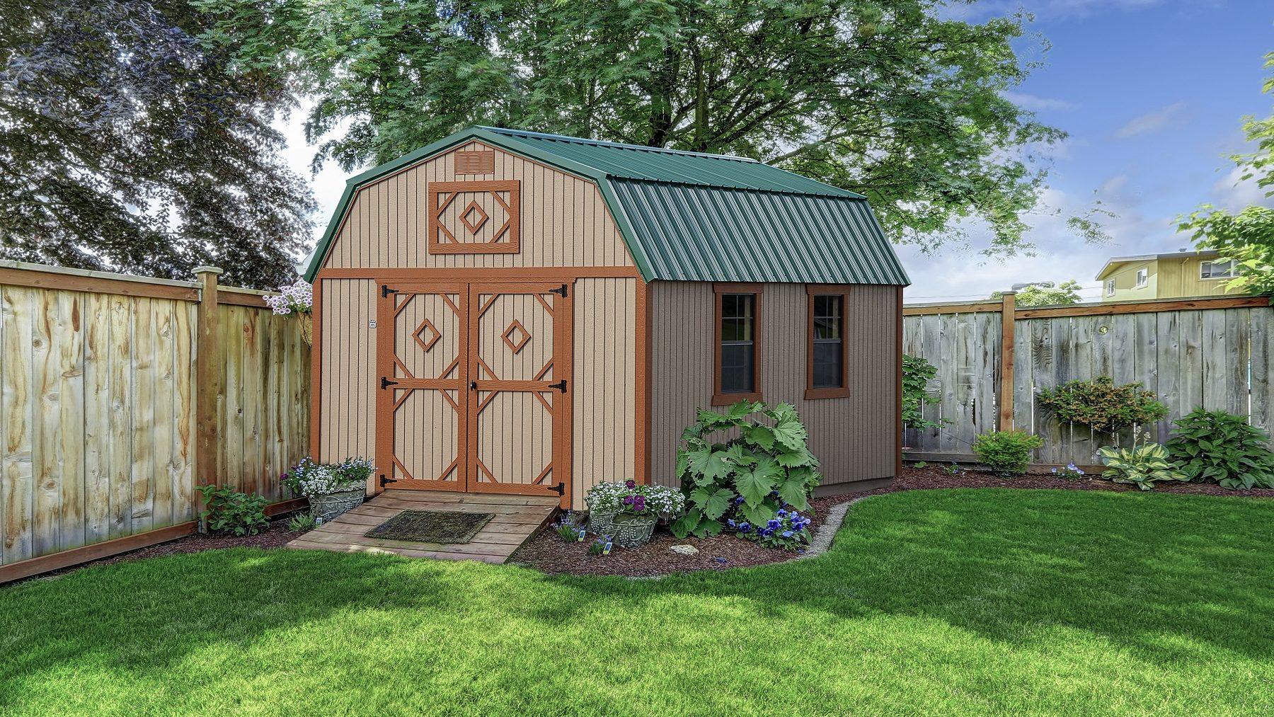 lofted barn michigan shed builder